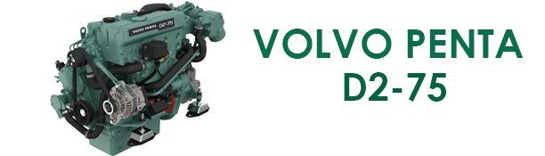 Volvo Penta d2-75 parts