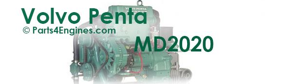 Volvo Penta MD2020 parts